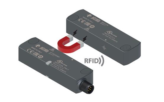 Датчик безопасности RFID серии ST H с магнитным держателем