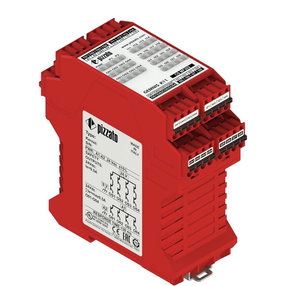 CS MF202M0-P2 Pizzato Elettrica Запрограммированный многофункциональный модуль, до SIL 3, PL е, Категория 4