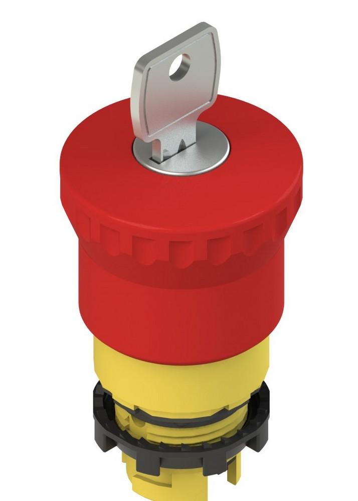 E2 1PEBZ4531 Pizzato Elettrica Аварийная кнопка с ключом