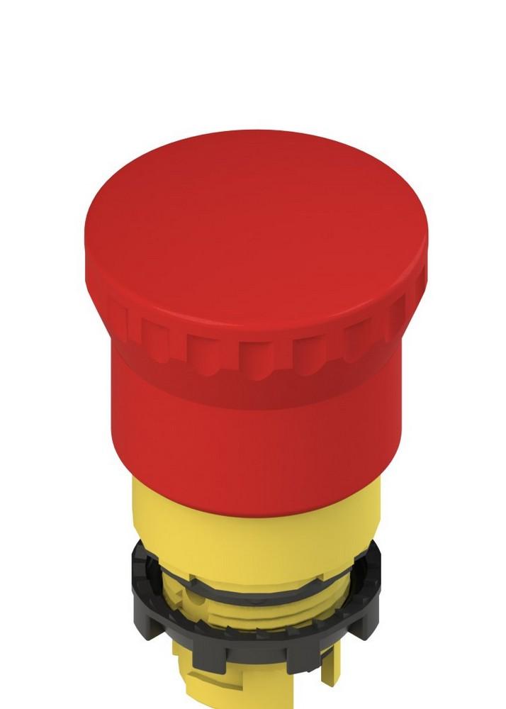 E2 1PEPZ4531 Pizzato Elettrica Двухтактный аварийная кнопка