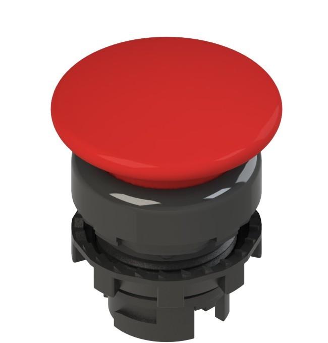 E2 1PL2F3410 Pizzato Elettrica Красная грибовидная кнопка с подсветкой