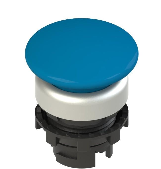 E2 1PL2F6490 Pizzato Elettrica Синяя грибовидная кнопка с подсветкой