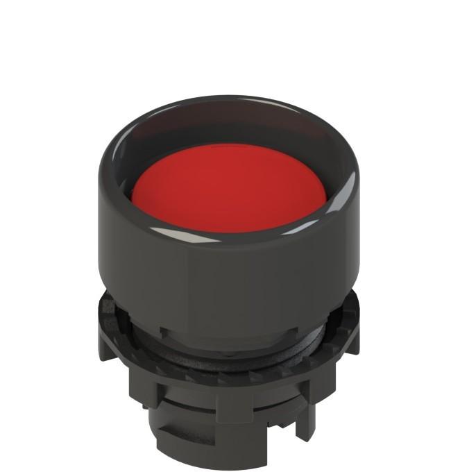 E2 1PL2P3210 Pizzato Elettrica Красная вдавленная кнопка с подсветкой
