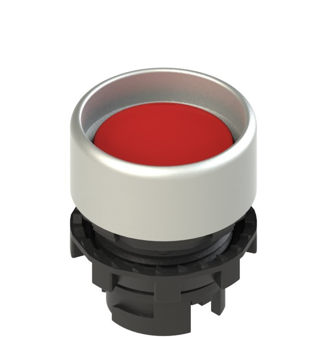 E2 1PL2P3290 Pizzato Elettrica Красная вдавленная кнопка с подсветкой
