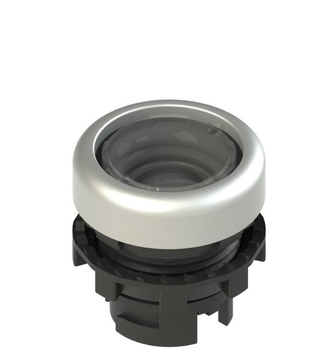 E2 1PL2R0290-T6 Pizzato Elettrica Плоская кнопка с подсветкой, без линзы