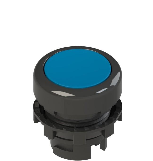 E2 1PL2R6210 Pizzato Elettrica Синяя плоская кнопка с подсветкой