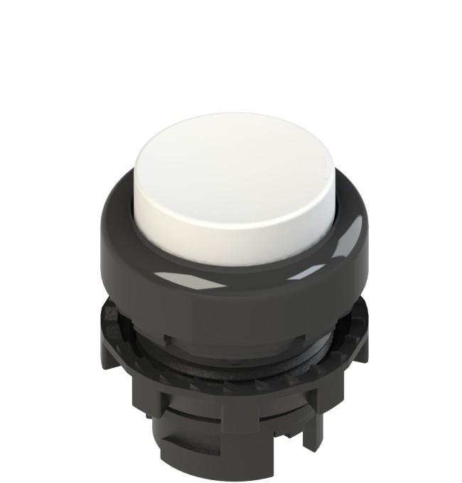 E2 1PL2S2210-T6 Pizzato Elettrica Белая выступающая кнопка с подсветкой