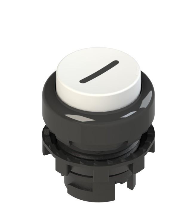 E2 1PL2S221L2 Pizzato Elettrica Белая выступающая кнопка с подсветкой, с маркировкой