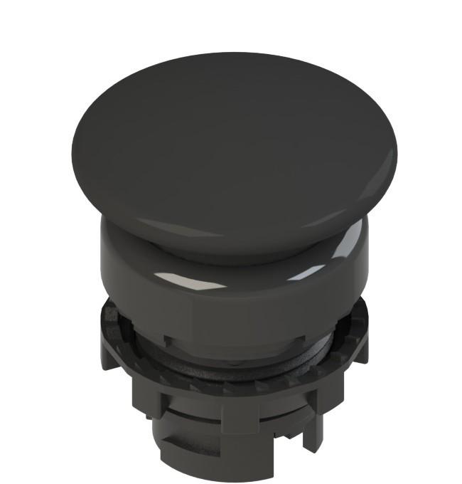 E2 1PU2F1410 Pizzato Elettrica Черная грибовидная кнопка с пружинным возвратом
