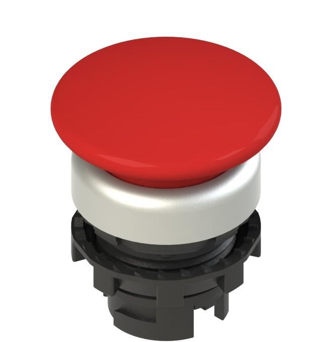 E2 1PU2F3490 Pizzato Elettrica Красная грибовидная кнопка с пружинным возвратом