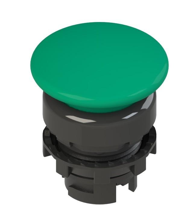 E2 1PU2F4410-T6 Pizzato Elettrica Зеленая грибовидная кнопка с пружинным возвратом