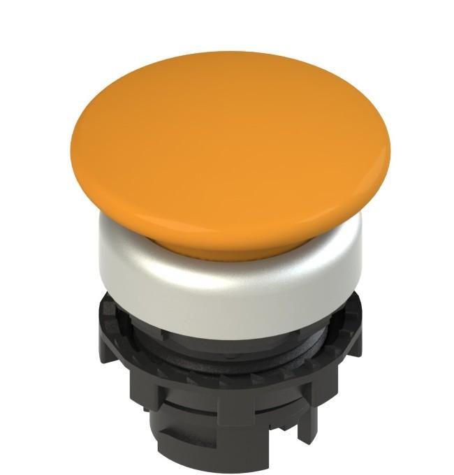 E2 1PU2F8490 Pizzato Elettrica Оранжевая грибовидная кнопка с подсветкой