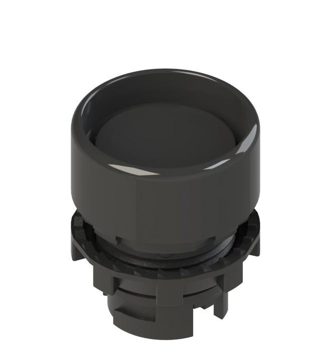 E2 1PU2P1210-T6 Pizzato Elettrica Черная вдавленная кнопка с пружинным возвратом