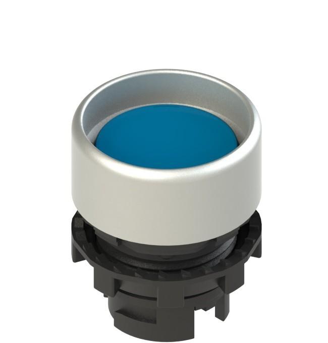 E2 1PU2P6290 Pizzato Elettrica Синяя вдавленная кнопка с пружинным возвратом