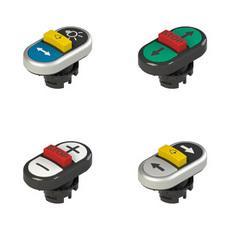 Тройные кнопки серии E2 PT