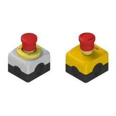 Корпуса серии ES AC с аварийной кнопкой