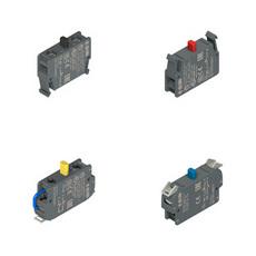 Контактные блоки серий E2 CP-CF