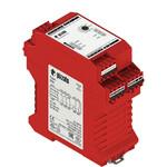 CS AT-02X024 Pizzato Elettrica Защитный модуль (2НО + 1НЗ) мгновенные + 2НО с задержкой, категория 4