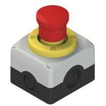ES AC31430 Pizzato Elettrica Модуль сборный с корпусом, аварийной кнопкой, светящимся диском и контактами
