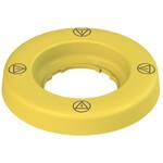VE DL1A5D13 Pizzato Elettrica Двухфункциональное фиксированное/мигающее кольцо-подсветка, O 60 мм, с надписью
