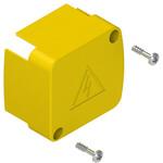 VE GG2BA5A Pizzato Elettrica Внутренняя защита разъема желтая, крепежные винты в комплекте