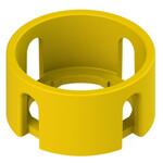 VE GP22A5A Pizzato Elettrica Цилиндрическая желтая защитная крышка с 4 слотами диаметром 40x20 мм