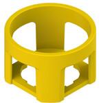 VE GP22B5A Pizzato Elettrica Цилиндрическая желтая защитная крышка диаметром 43x27 мм с 4 слотами