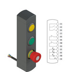 BN AC3ZA18 Pizzato Elettrica Блок управления устройствами