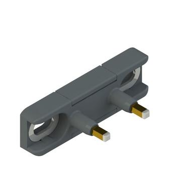 DS KA1A Pizzato Elettrica Прямой актуатор для дверных выключателей с внутренними контактами