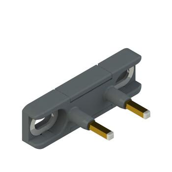 DS KA2A Pizzato Elettrica Прямой актуатор для дверных выключателей с внутренними контактами