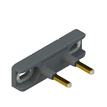 DS KA3A Pizzato Elettrica Прямой актуатор для дверных выключателей с внутренними контактами