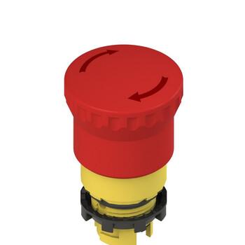 E2 1PERZ4531 Pizzato Elettrica Аварийная кнопка (поворот для освобождения)