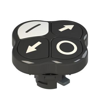 E2 1PQFA1QAAL Pizzato Elettrica Четверная кнопка