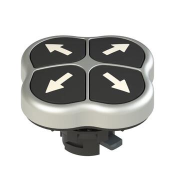 E2 1PQFA9QAAA Pizzato Elettrica Четверная кнопка