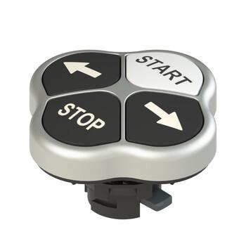 E2 1PQFA9QAAC Pizzato Elettrica Четверная кнопка