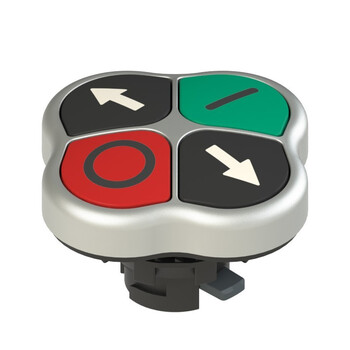 E2 1PQFA9QAAD Pizzato Elettrica Четверная кнопка