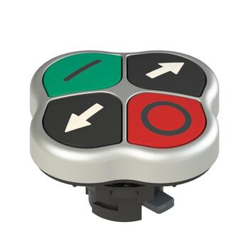 E2 1PQFA9QAAK Pizzato Elettrica Четверная кнопка