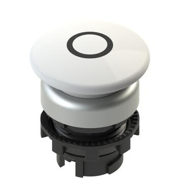 E2 1PL2F249L1 Pizzato Elettrica Белая грибовидная кнопка с подсветкой, с маркировкой