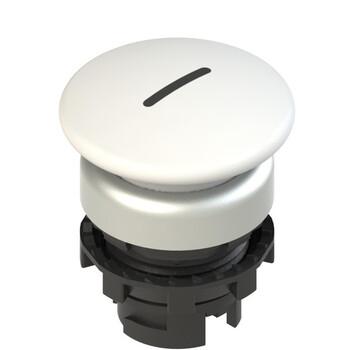 E2 1PL2F249L2 Pizzato Elettrica Белая грибовидная кнопка с подсветкой, с маркировкой