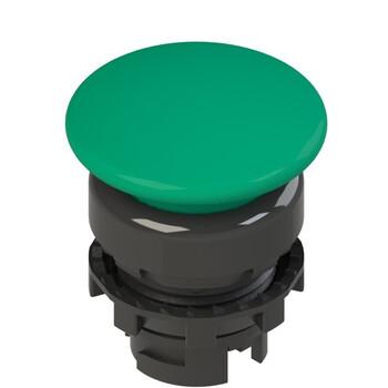 E2 1PL2F4410 Pizzato Elettrica Зеленая грибовидная кнопка с подсветкой