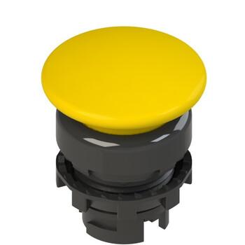 E2 1PL2F5410 Pizzato Elettrica Желтая грибовидная кнопка с подсветкой