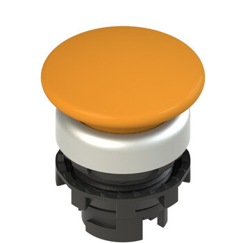 E2 1PL2F8490 Pizzato Elettrica Оранжевая грибовидная кнопка с подсветкой