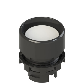 E2 1PL2P2210-T6 Pizzato Elettrica Белая вдавленная кнопка с подсветкой