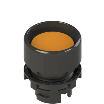 E2 1PL2P8210 Pizzato Elettrica Оранжевая вдавленная кнопка с подсветкой