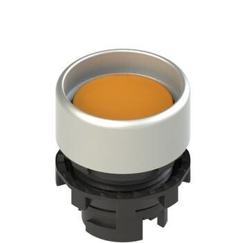 E2 1PL2P8290 Pizzato Elettrica Оранжевая вдавленная кнопка с подсветкой