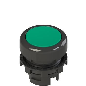 E2 1PL2R4210-T6 Pizzato Elettrica Зеленая плоская кнопка с подсветкой