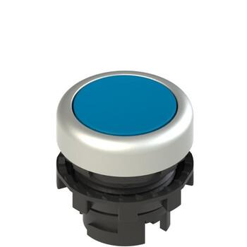 E2 1PL2R6290 Pizzato Elettrica Синяя плоская кнопка с подсветкой