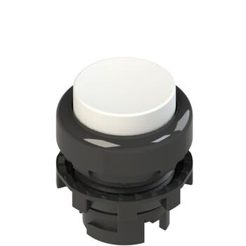 E2 1PL2S2210 Pizzato Elettrica Белая выступающая кнопка с подсветкой