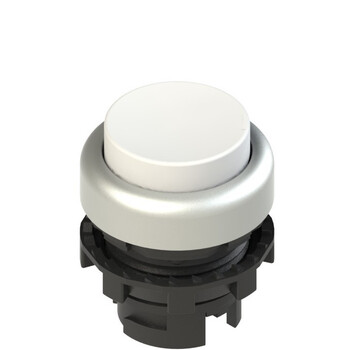 E2 1PL2S2290 Pizzato Elettrica Белая выступающая кнопка с подсветкой