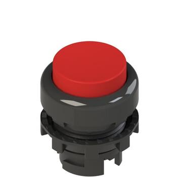 E2 1PL2S3210 Pizzato Elettrica Красная выступающая кнопка с подсветкой